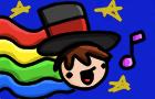 rainbow man