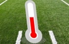 Thermometer Touchdown