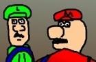 Mario and Luigi are gay