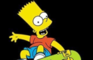 Bart goes Skateboarding
