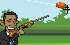 Obama Skeet Shooting