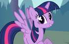 Twilight Alicorn Reaction