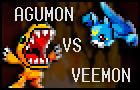 Agumon versus Veemon