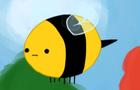 Mr.bee thinks