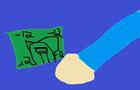 negitive 12 dollar bill