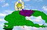 vegeta kills Hulk
