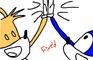 High five Sonic