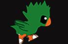 Step Jump - Green Bird