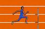 Politic Sports Hurdle Run