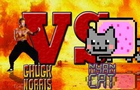 Chuck Norris VS Nyan Cat
