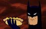 Batman drops a hotdog