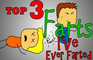 Top 3 Farts I've Farted