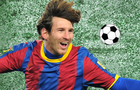 Messi's soccer snooker