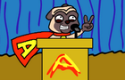Awesome Pug For President