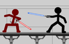 Star Wars Stick Fight