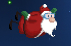 Super Skydiving Santa