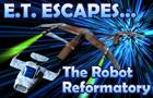 E. T. Escapes The Robot R