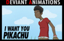 I Want You Pikachu