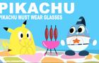 Pikachu must wear glasses