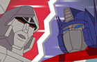 Optimus Prime vs Megatron