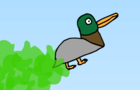 Flight of Butt Fart Duck