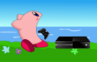 Kirby Eats An Xbox One