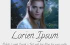 Lorien Ipsum