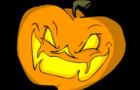 A VeggieClock Halloween