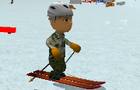 Ski Sim Cartoon