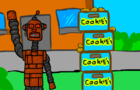 how ROBOTs sell cookies!