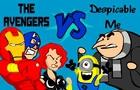 Avengers vs Despicable Me
