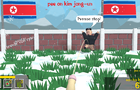 Pee on Kim Jong-un just f