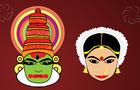 Indian facial dance