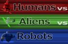 HumansVSAliensVSRobots