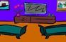 Three Cartoon Chairs Room