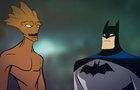 Batman Meets Groot