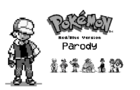 Pokemon Red/Blue Parody