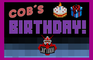 Cob´s Birthday!