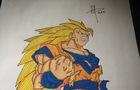 Dragon Ball Z Super Saiya
