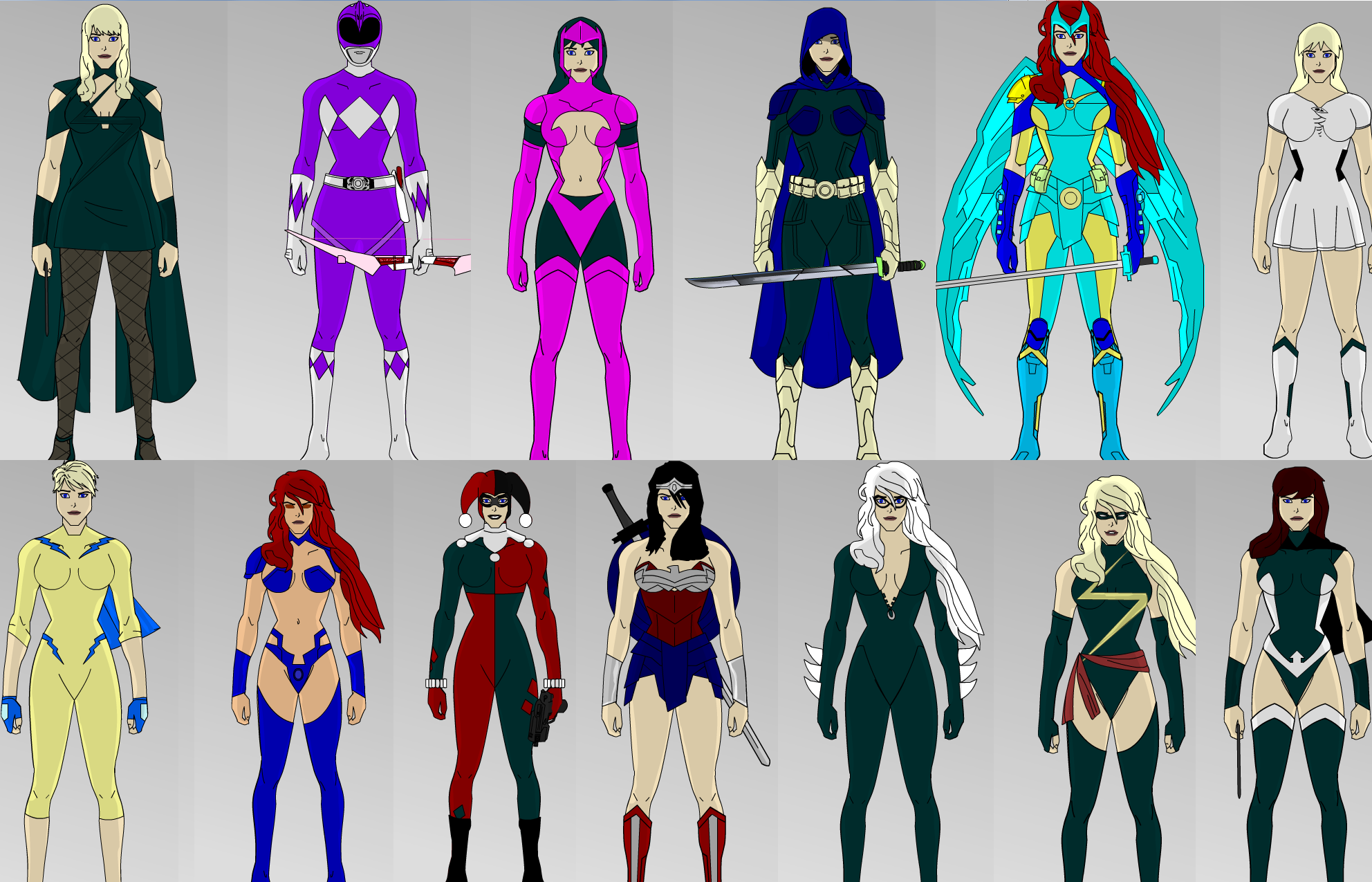 Female Superhero Creator