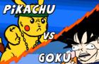 Pikachu versus Goku!
