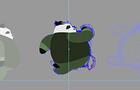 Panda Fast animation - Samurai Bamboo