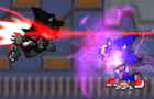 Face Yourself Collab Entry- Metal Sonic v. Metal Sanik