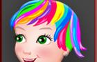 Rainbow Girl At Fitness