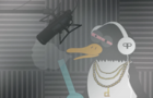 Meet Patrick the Rapping Penguin