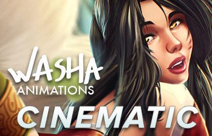 Washa animation