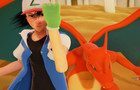 Sundown Showdown (preview) - [Charizard vs Blastoise - Ash vs Gary]