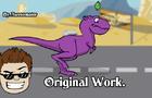Animated T-Rex