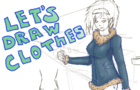 Loryen - How to draw a girl part 3 (Clothes-Types)
