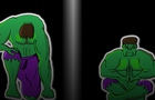 TRAINING, THOR AND HULK. // ENTRENAMIENTO, THOR AND HULK.